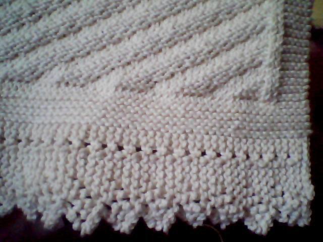 Diagonal Knit Cotton Kitchen Towel (detail) Original desig? Flickr