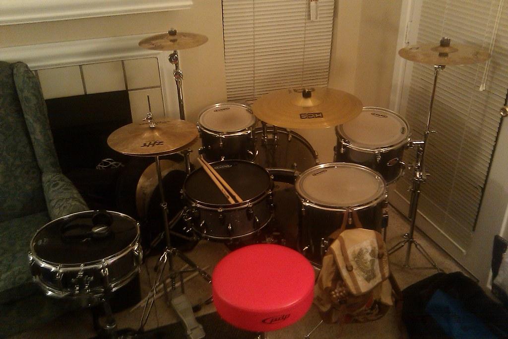 Cool Drum Set | Quinton McFarland | Flickr