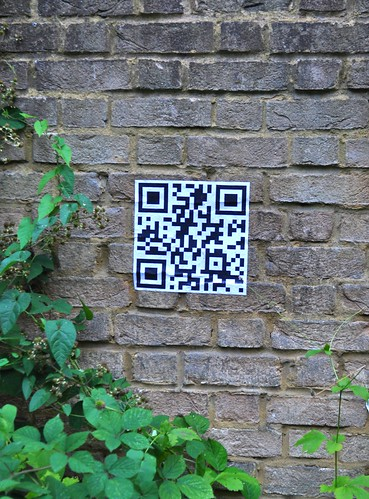 QR code paste up | by id-iom