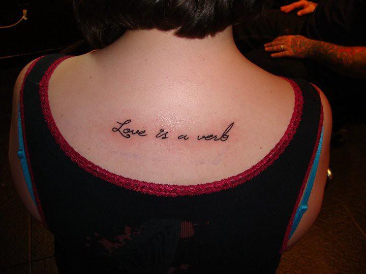 Tattoo Verb
