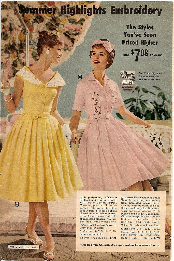 50's Clothing Fashion