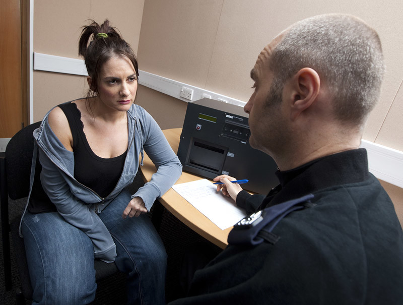 Police Interview Training | Actors playing the roles of poli ...