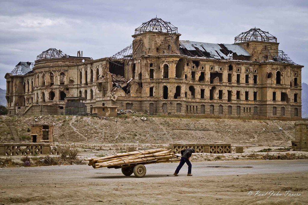 Afghanistan Darul Aman Palace Ruins Pj Tavera