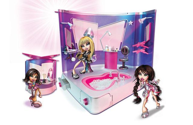 Bratz Salon N Spa Playset
