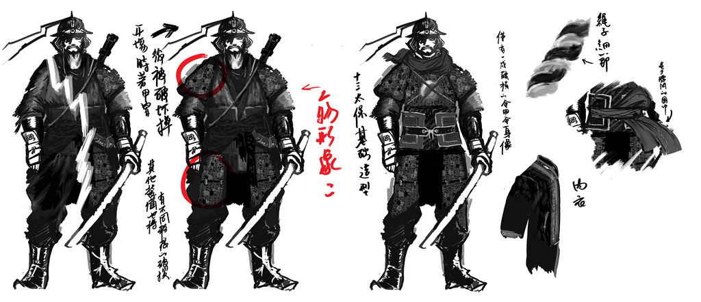 Character Design Documentary : Film character design draft nod young flickr