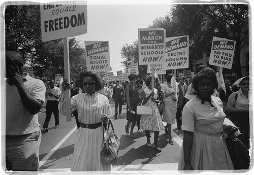 Civil Rights Protesters, Washington DC | by tedeytan