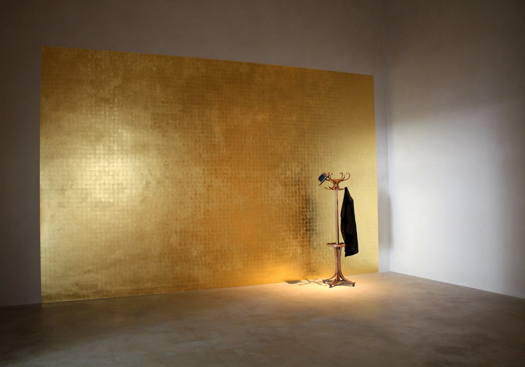 Gold Leaf Paint On Walls