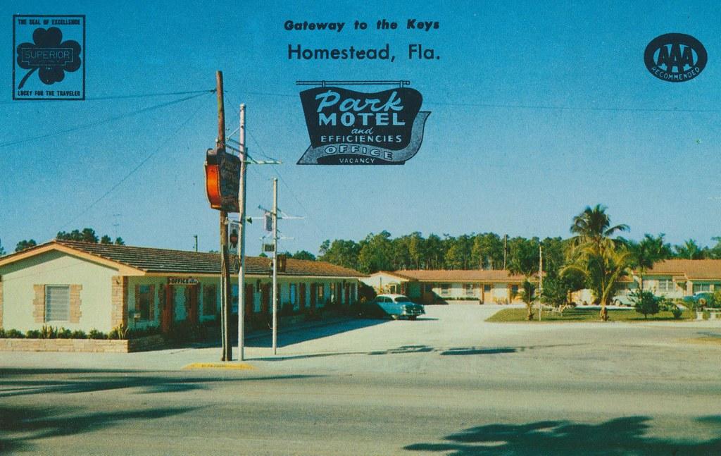 Park Motel - Homestead, Florida