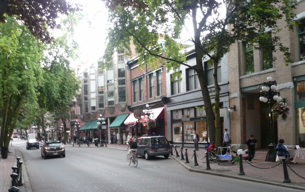 Marvelous Vancouver Gaslight District | By RonInDayton Vancouver Gaslight District |  By RonInDayton Pictures