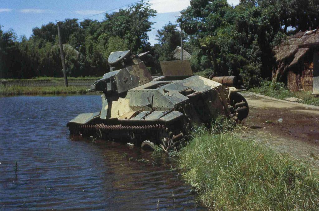 type 95 light tank ha go 02 japanese type 95 light tank flickr