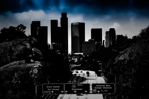Los Angeles Skyline - Into The Void | by TooMuchFire