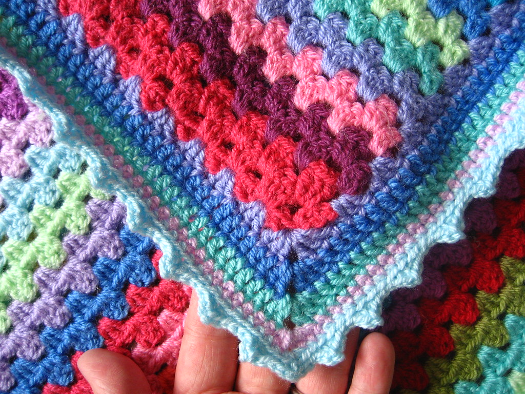 Granny Stripe Edging The Pattern For This Edging And More Flickr
