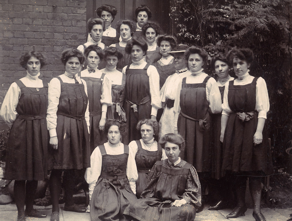 School Group From The Early Twentieth Century Found