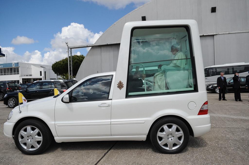 Popes New Car