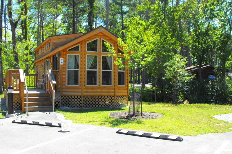 Deluxe cabin winton woods campground stephanie warren for Winton woods cabins