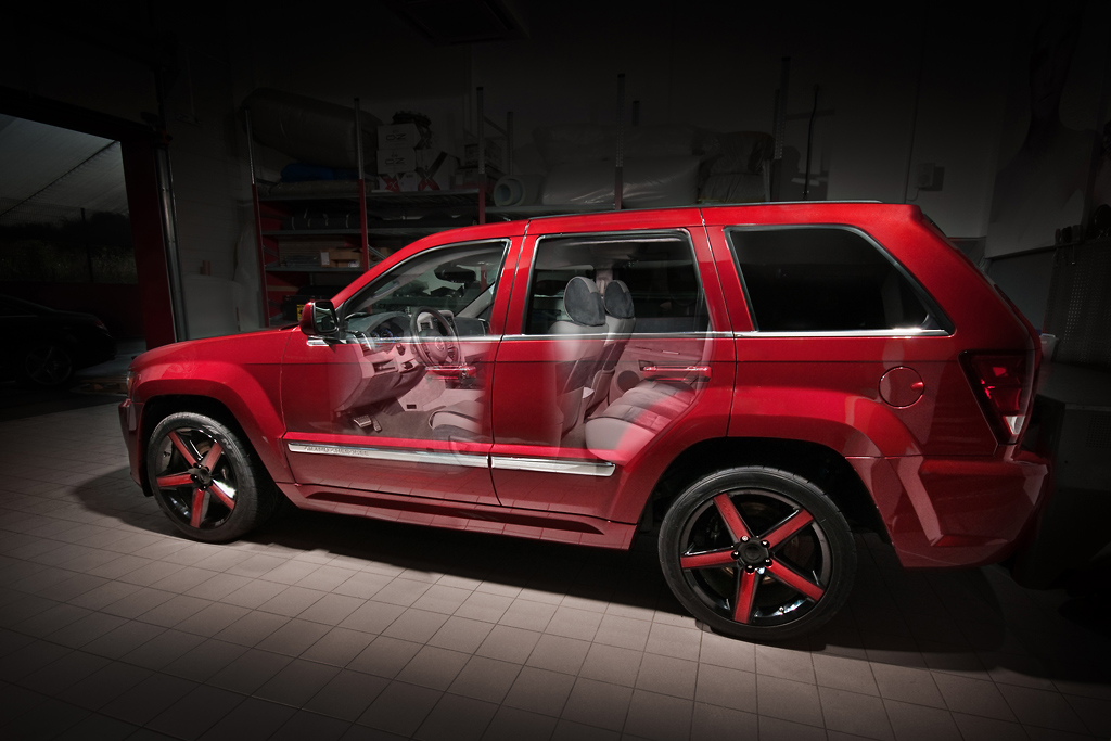 Jeep Grand Cherokee with custom interior | The interior of ...