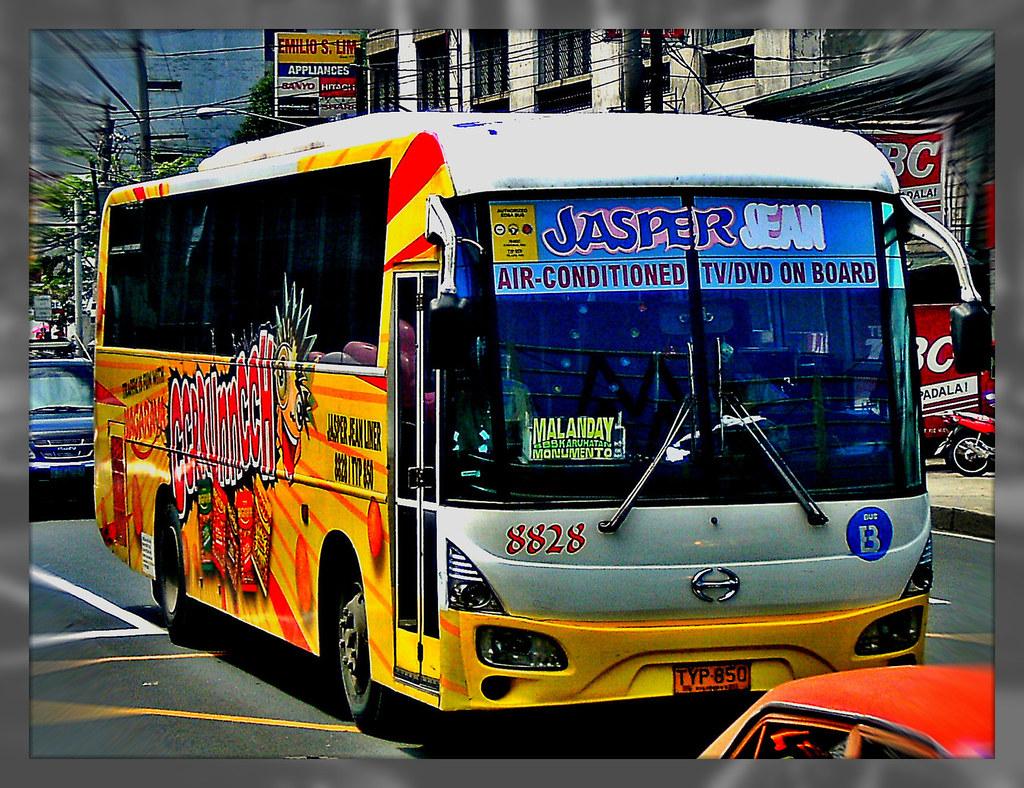 Jasper Jean Liner Inc 8828 Bus No 8828 Classification