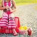 Strawberry Lemonade {bench}
