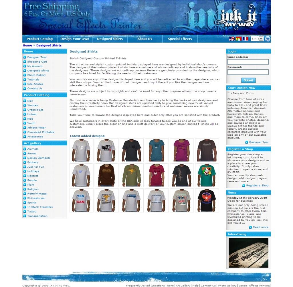 T Shirt Maker And Custom Application Tool Creator Or T Sh Flickr
