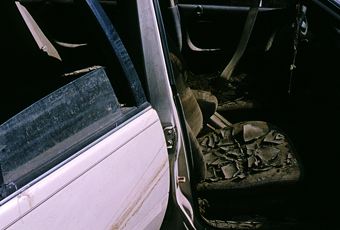 New-Orleans post Katrina Sept 2005: muddy car of the hurricane | by Gilbert Mercier