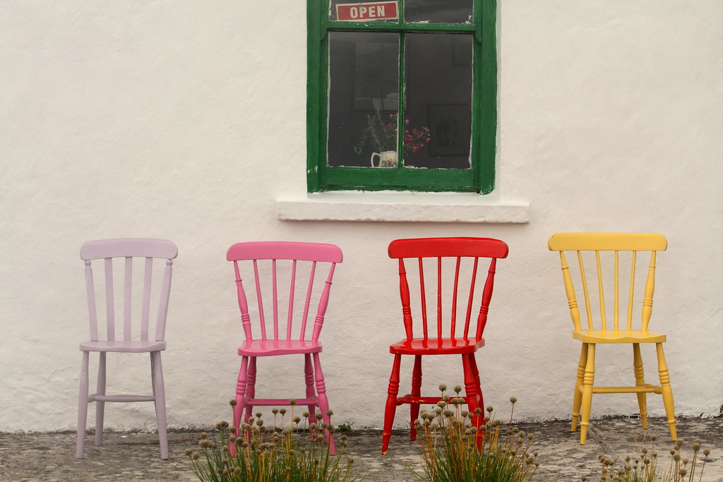 Image Result For Colorful Chairs For
