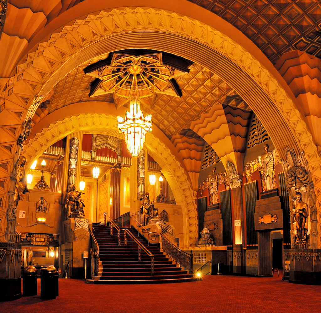 West End Of Lobby Pantages Theatre Hollywood Wendell F Benedetti Flickr