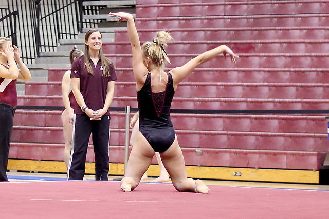 Twu Gymnastics Brittany Johnson Floor Flickr Photo