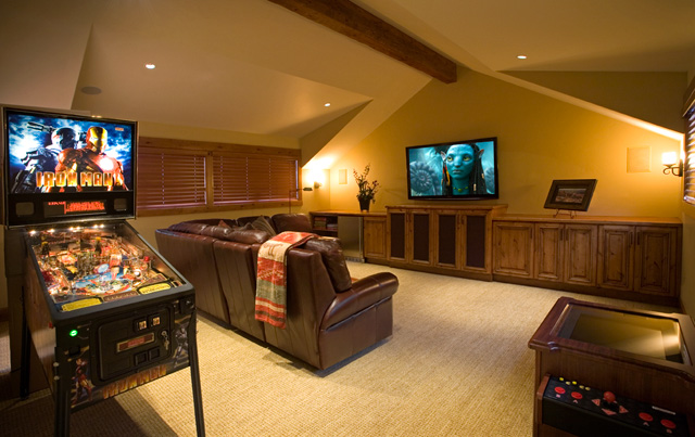 Modern Home Game Room