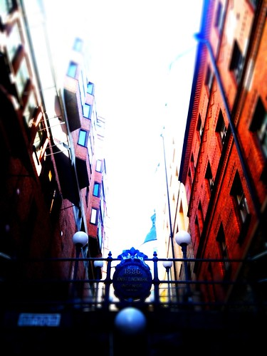 Stockholm City alley | by Magnus Attefall