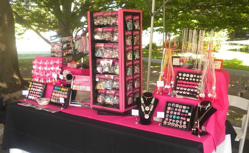Sugarraindrops Jewelry Display Booth | by sugarraindrops_