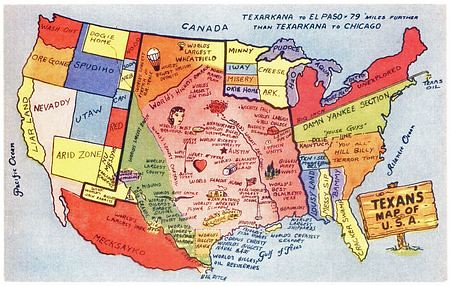 Funny Texas Maps  Flickr