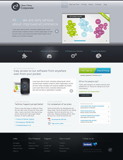 C3 - Clean Classy Corporate HTML/WP template - Homepage | by ThemeFuse