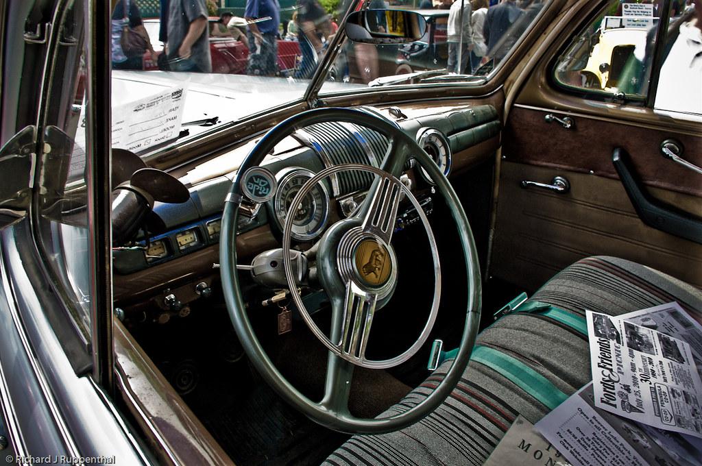 1947 Mercury Monarch Sedan Coupe Interior One Of The