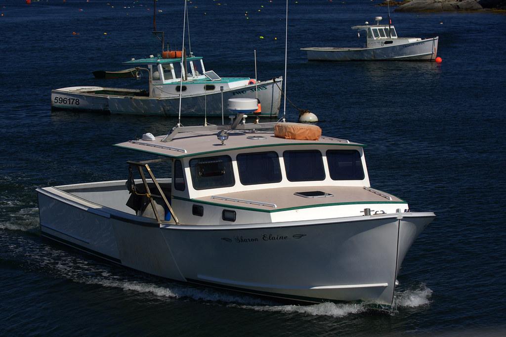 Lobster Boat Sharon Elaine, New Harbor, Maine | Rob Kleine | Flickr