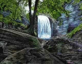Looking Glass Falls | by traqair57