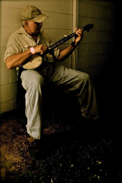 Banjo Player Flickr Photo Sharing