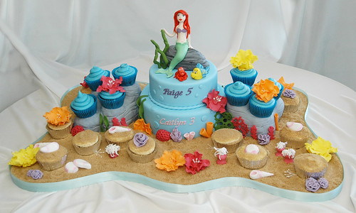 Ariel The Little Mermaid Cake | by Say it with Cake