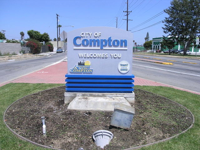 Compton Sign | www.imgkid.com - The Image Kid Has It!