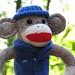 Big Ear Outdoor Dad Sock Monkey
