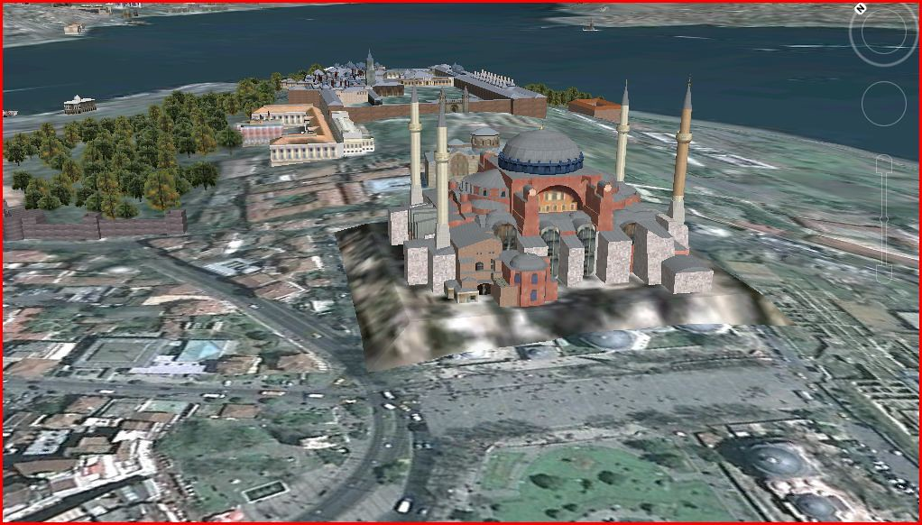 google earth istanbul ayasofya cabada1 flickr