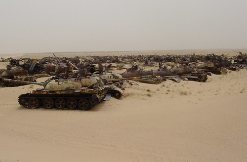 Tank graveyard (Kuwait) 01 | by John Out and About