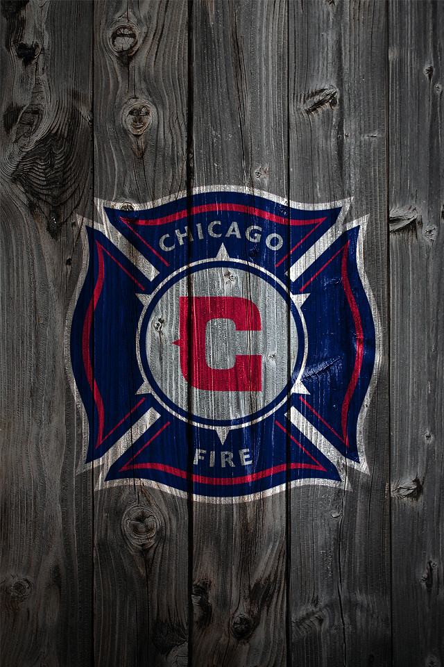 Chicago Fire Wood Iphone 4 Background Chicago Fire Logo On Flickr