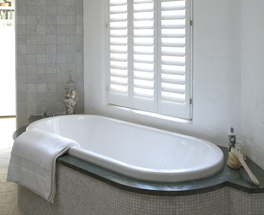 ... Bathroom Shutters | By The New England Shutter Company Interior Shutters