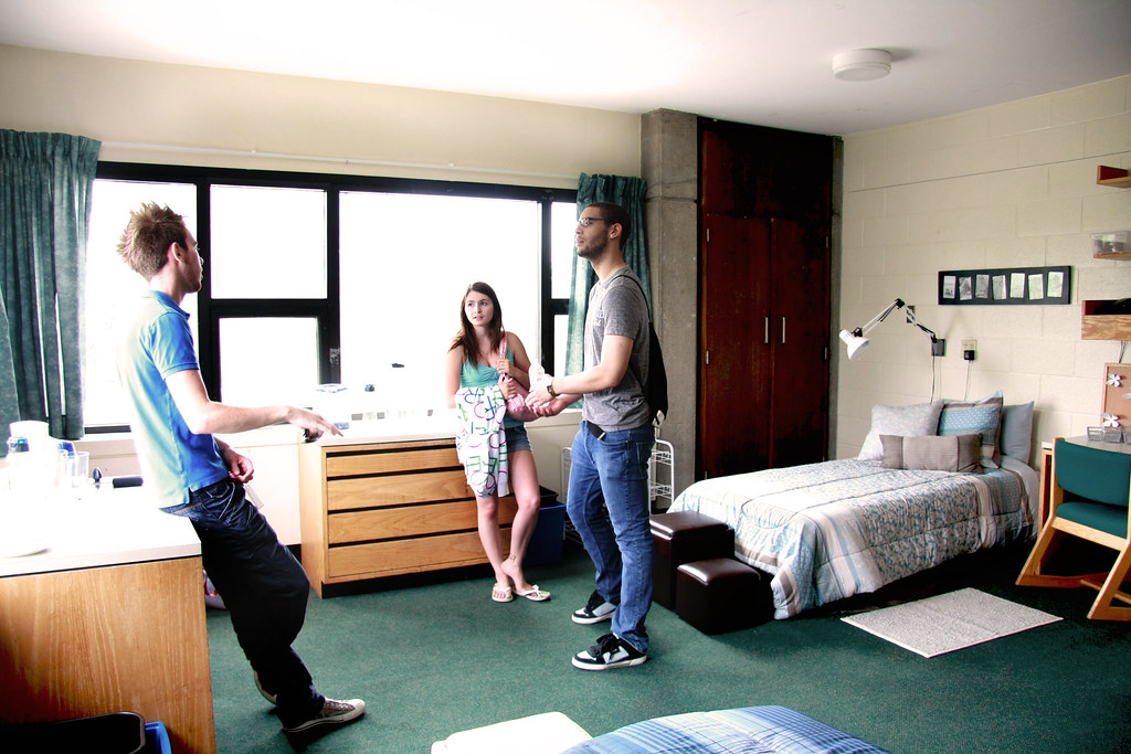 Winters College Residence Double Bedroom York