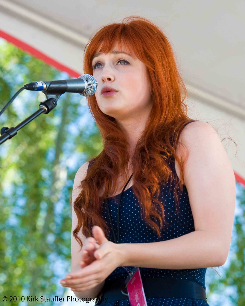 Alison Sudol of A Fine Frenzy performs at Lilith Fair 2010 ... Lilith
