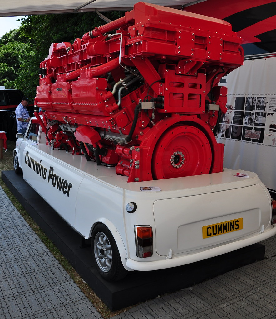 Cummins Mini 78l V18 3500bhp Paul Gerber Flickr