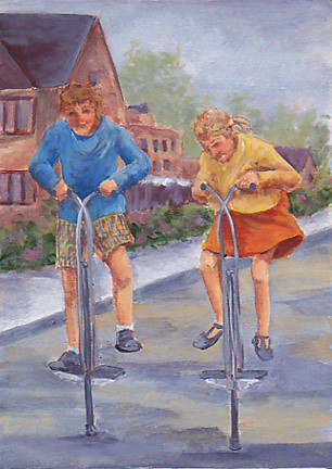 The Original Pogo Stick More Fun And Memories From The