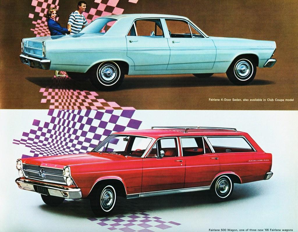 1966 Ford Fairlane Sedan 500 Wagon