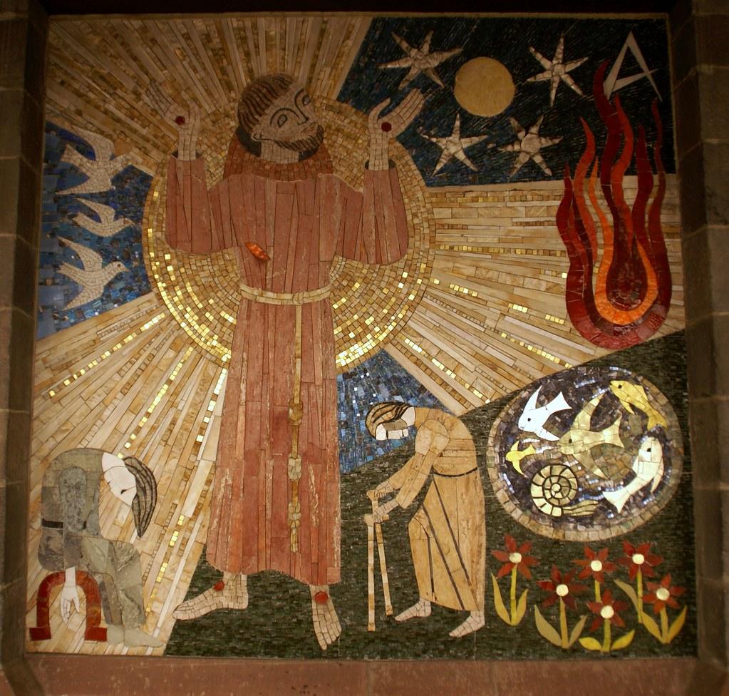 Mosaik Frankfurt frankfurt liebfrauenstraße liebfrauenkirche mosaik des flickr