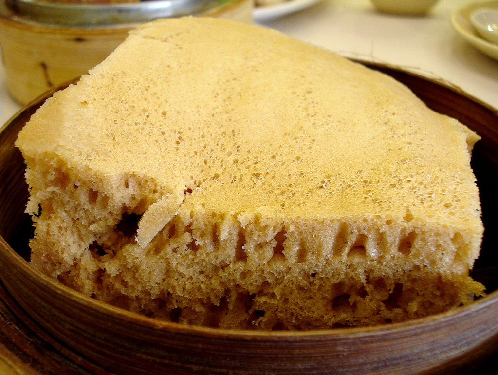 Steam Cake Recipes Pictures : Steamed sponge cake (???) at Harbour City, Chinatown, Lond ...
